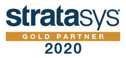 Stratasys Gold Partner 2020