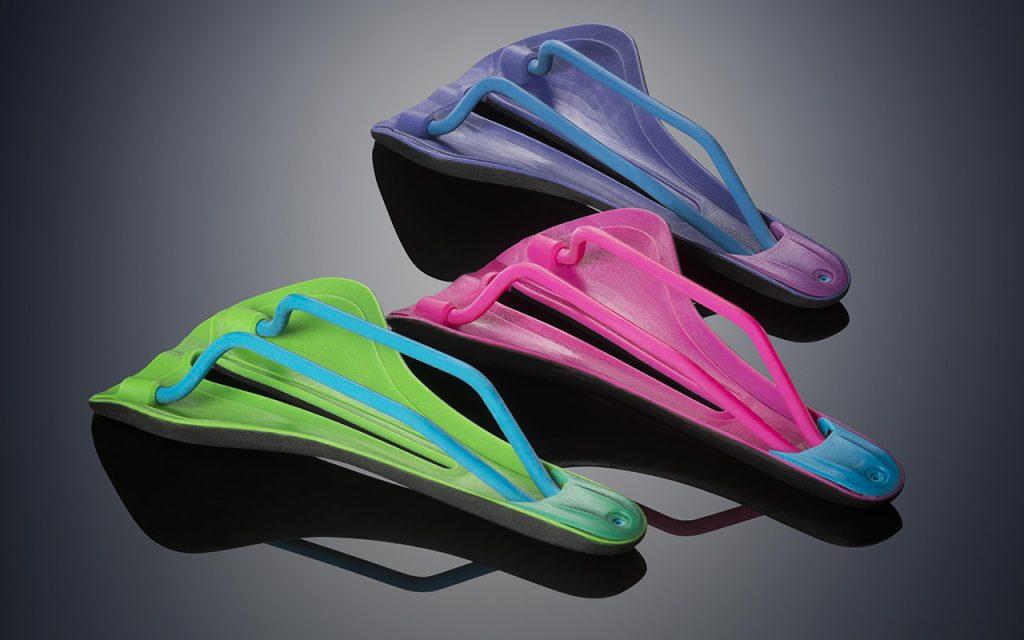 Prototypen von Fahrradsitzen aus PolyJet-Material