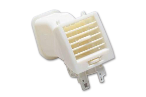 Kraftfahrzeug-Lufteinlass aus temperaturbeständigem PolyJet-Material