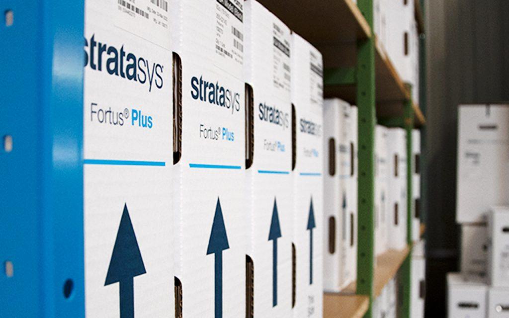 partIQ verwendet für die 3D-Druckdienstleistungen hochwertige Materialien von Stratasys